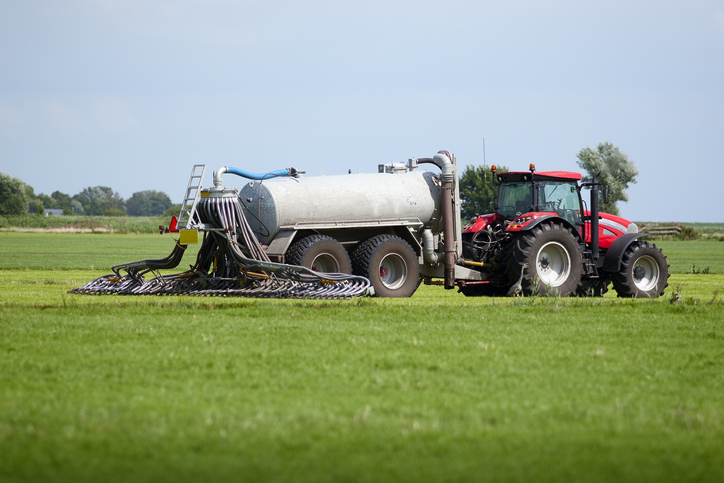 Manure Application on Dormant Crops and Efficiency